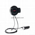 2017Car Bluetooth hands-free phone car charger FM mobile phone stand fit machine