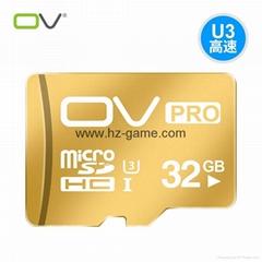 OV32g内存卡tf卡microSD卡30高速u3存储手机平板电脑通用闪存卡