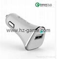 Quick Charge 3.0 Car Charger QC3.0 IQ Power Adapter Competiable with 5