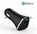 Quick Charge 3.0 Car Charger QC3.0 IQ Power Adapter Competiable with 6