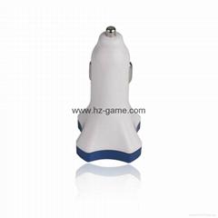 批發四口X USB48A4USB智能車載充電器手機平板導航儀車載充電器