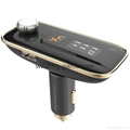 T9 Bluetooth Car Kit FM Transmitter MP3 Player Support TF Card with Car Charger 7