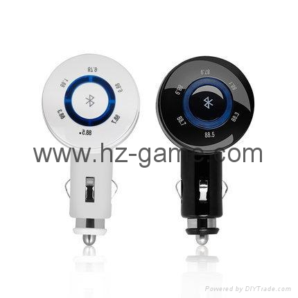 T9 Bluetooth Car Kit FM Transmitter MP3 Player Support TF Card with Car Charger 11