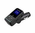 T9 Bluetooth Car Kit FM Transmitter MP3 Player Support TF Card with Car Charger 17