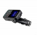 T9 Bluetooth Car Kit FM Transmitter MP3 Player Support TF Card with Car Charger 18