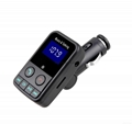 T9 Bluetooth Car Kit FM Transmitter MP3 Player Support TF Card with Car Charger 20