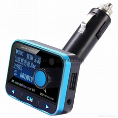 New FM Transmitter Bluetooth Car Charger Mounted Bluetooth Car Transmitter