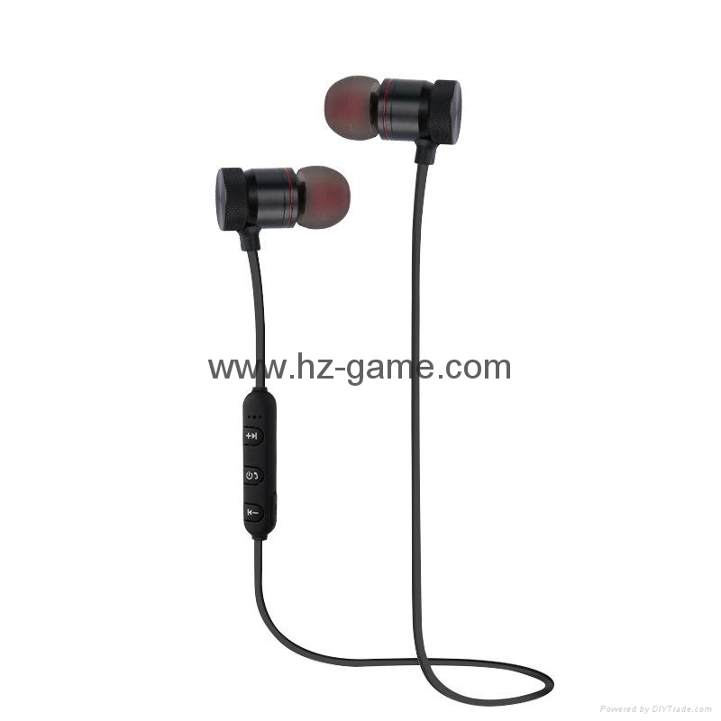 New sports Bluetooth headset hanging ear type wireless 4.1stereo dual earphone 3
