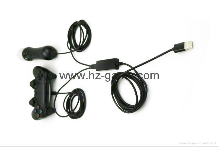 厂家直销PS4SLIM手柄双座充ps4slim无线手柄充电器TP4002S 8