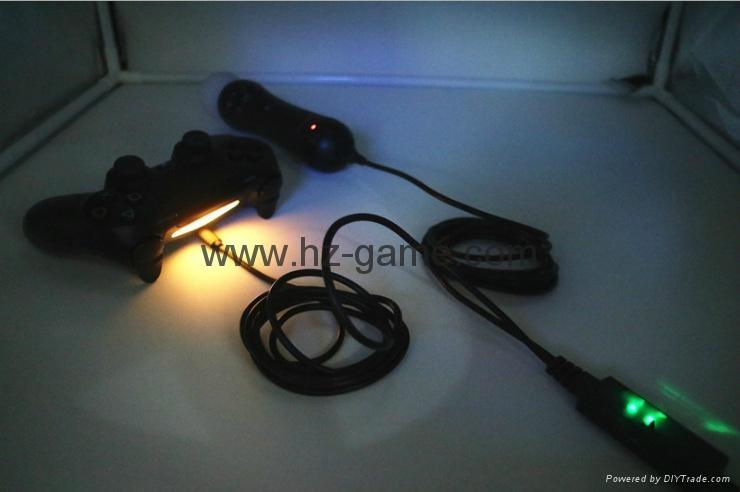 廠家直銷PS4SLIM手柄雙座充ps4slim無線手柄充電器TP4002S 10