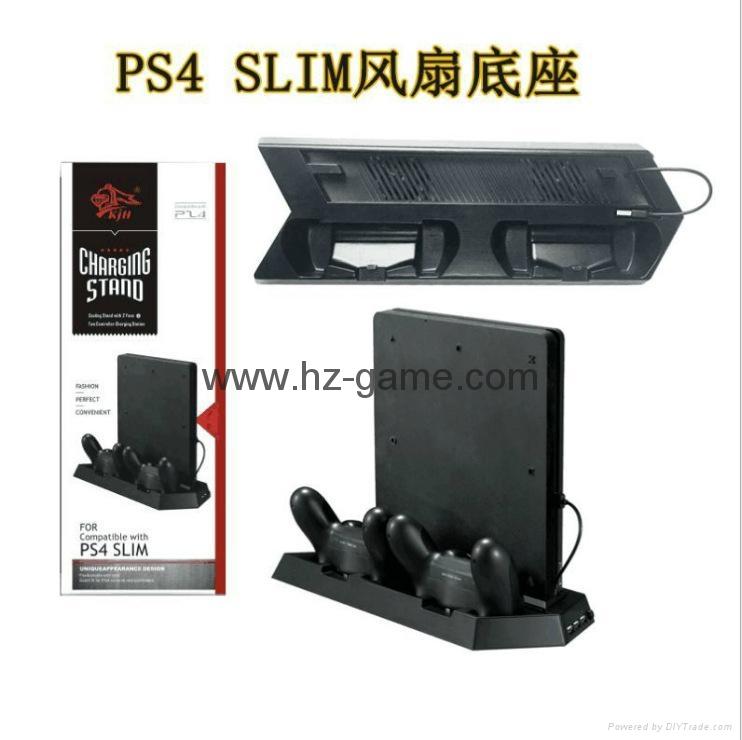 厂家直销PS4SLIM手柄双座充ps4slim无线手柄充电器TP4002S 13