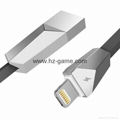 iPhone7耳機加轉接線 lightning轉3.5mm音頻轉換線7plus數據線器