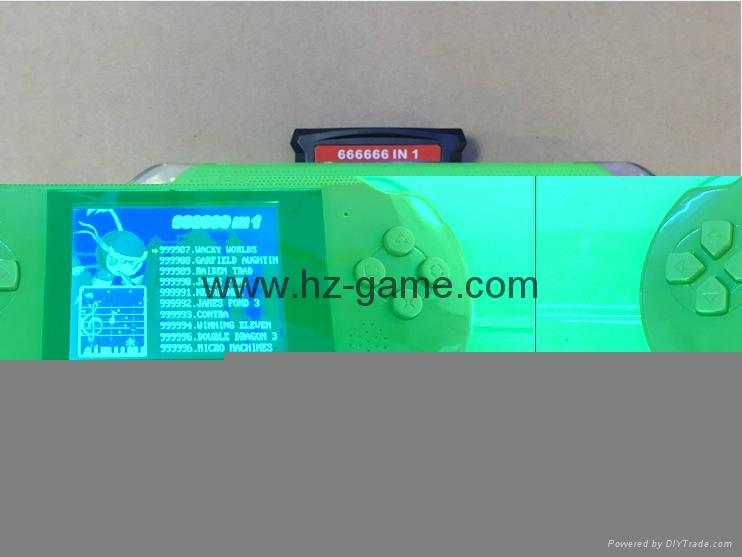 厂家直销PXP316位掌上游戏机儿童游戏机PVPPSP游戏机自带游戏 3