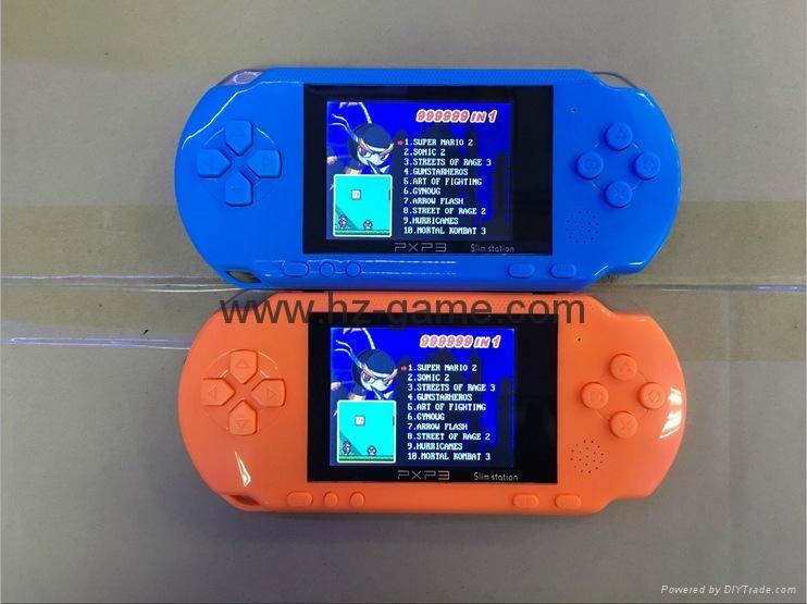 厂家直销PXP316位掌上游戏机儿童游戏机PVPPSP游戏机自带游戏 2