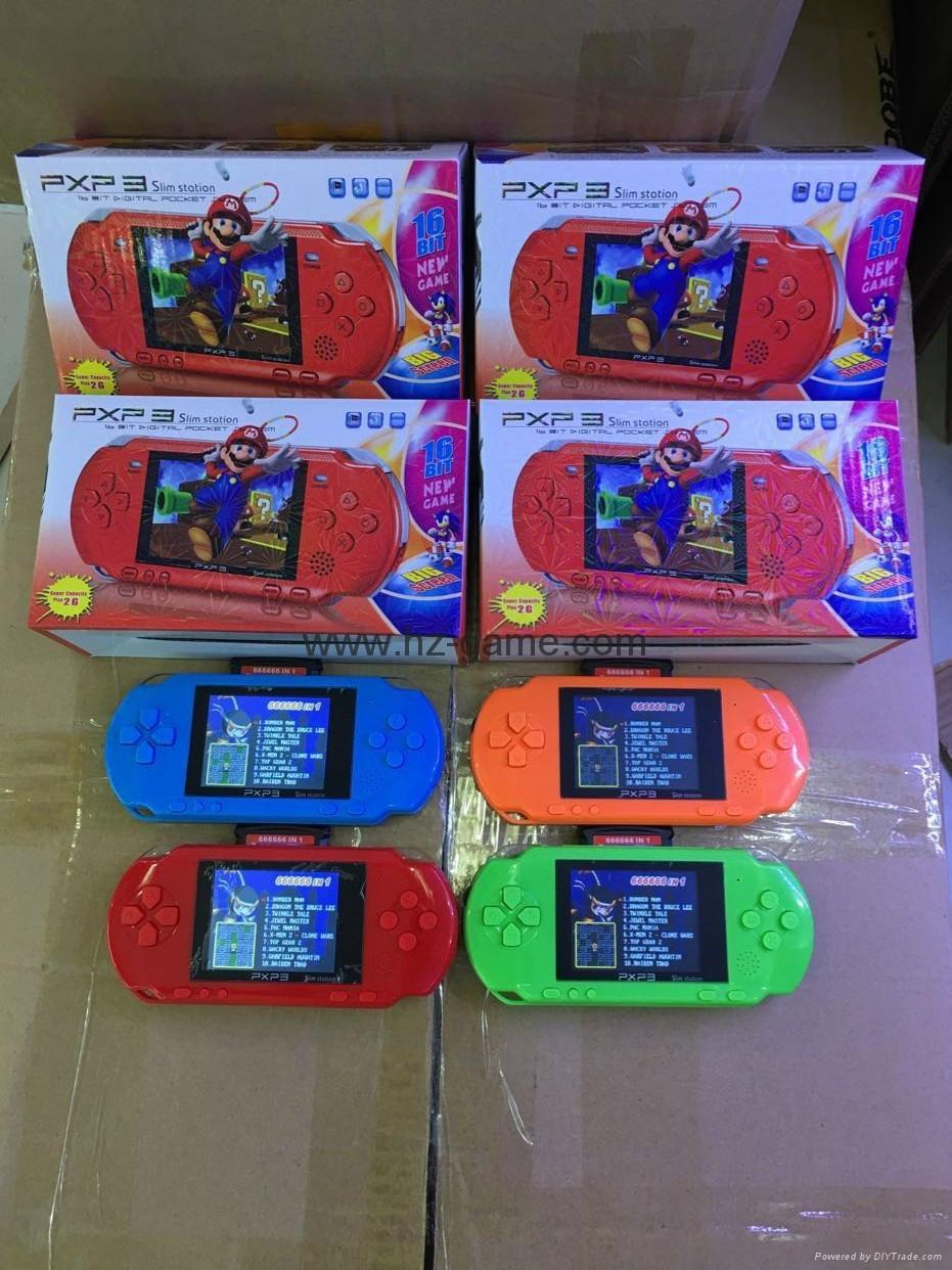 廠家直銷PXP316位掌上遊戲機儿童遊戲機PVPPSP遊戲機自帶遊戲 9