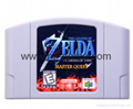 N64 Game Legend of Zelda-QUEST Nintendo Video Game Cartridge Console Card