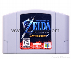 N64 Game Legend of Zelda
