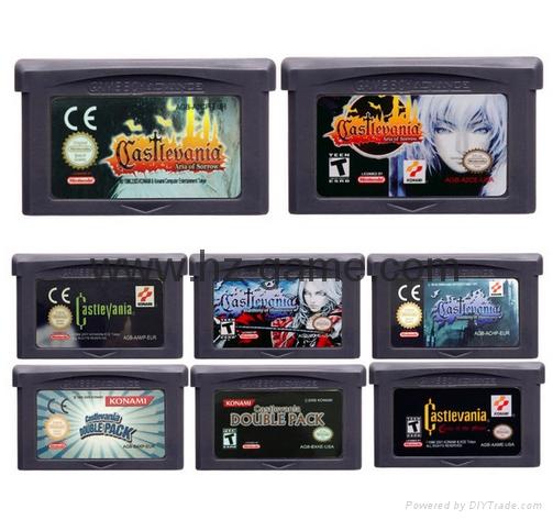 任天堂32位视频游戏盒控制卡Castlevania系列英文版 1