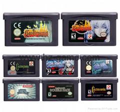 任天堂32位視頻遊戲盒控制卡Castlevania系列英文版