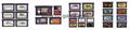 N64 Game Legend 任天堂游戏卡 NEW3DSLL28卡盒 18