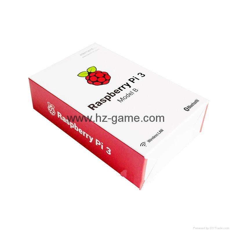 原装树莓派3代B型 Raspberry Pi 3 Model B 板载wifi和蓝牙 2