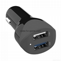 Quick Charge 3.0 Car Charger QC3.0 IQ Power Adapter Competiable with 1
