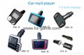 Factory wholesale car MP3 new folding 3HD18 car mp3 cigarette lighter car MP3 17