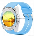 new V8 smart watch high-definition touch screen card call movement enios