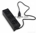 PS4 PRO风扇 PS4Pro温控散热风扇 自动恒温风扇 PS4主机后置风扇 16