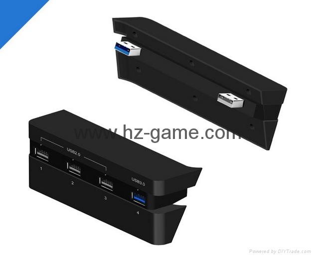 PS4 slimPRO 5合一 HUB集线器 USB转换器 3.0接口扩展器 9
