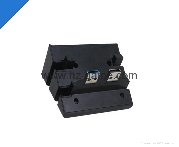 PS4 slimPRO 5合一 HUB集线器 USB转换器 3.0接口扩展器 10