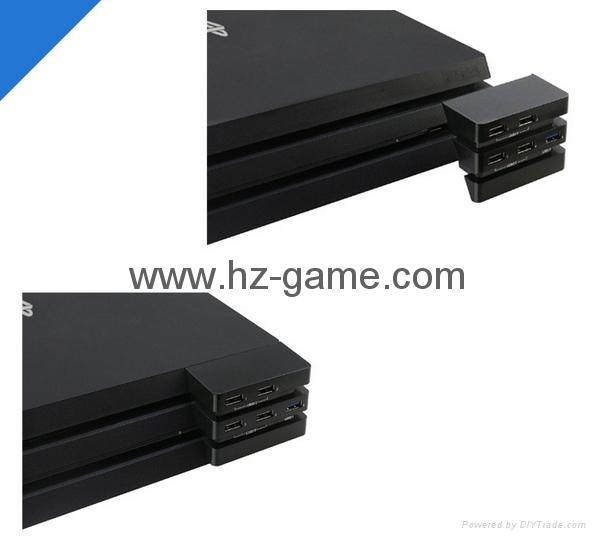 PS4 slimPRO 5合一 HUB集线器 USB转换器 3.0接口扩展器 13