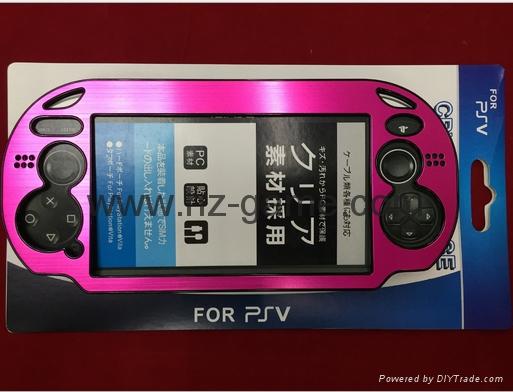 NEW psvita保护套 铝盒防震硬保护铝金属盒盖外壳索尼PSV1000 Psvita  6