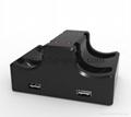 switch joy-con遊戲手柄座充充電器遊戲配件4個手柄充電任天堂 3