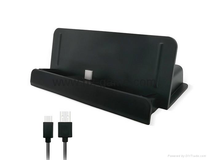 switch joy-con遊戲手柄座充充電器遊戲配件4個手柄充電任天堂 4