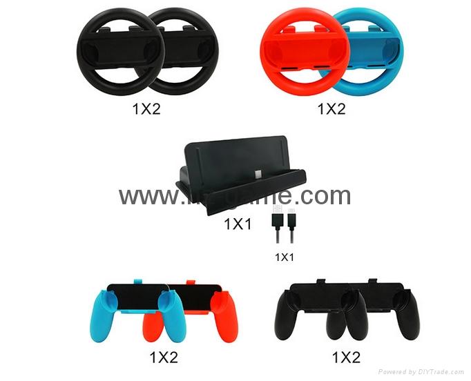 switch joy-con游戏手柄座充充电器游戏配件4个手柄充电任天堂 6