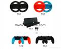 switch joy-con遊戲手柄座充充電器遊戲配件4個手柄充電任天堂 6
