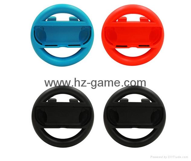 SWITCHJoy-Con任天堂手柄方向盤 支架 遊戲配件左右適用 11