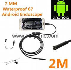 USB內窺鏡  手機工業內窺鏡2M 8.5MM WIFI內窺