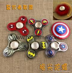 Hand Spinner American Captain Avenger Alliance Iron Man fingertips gyro (Hot Product - 1*)