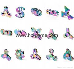 US dollars coins HandSpinner cents fingertips gyro toys pure copper finger screw