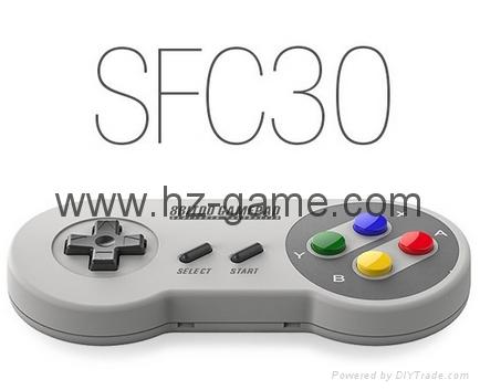 八位堂 8BITDO FC30藍牙無線遊戲手柄 支持iOS安卓電腦 3