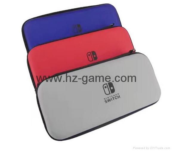 現貨高品質 nintendo Switch 遊戲機收納包switch包 switchEVA包 8