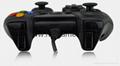 廠家直銷2017新款私模PCPS3有線USB雙震動遊戲手柄支持XINPUT 4
