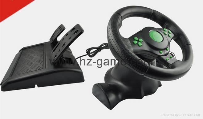 廠家直銷2017新款私模PCPS3有線USB雙震動遊戲手柄支持XINPUT 5