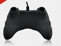 廠家直銷2017新款私模PCPS3有線USB雙震動遊戲手柄支持XINPUT 6