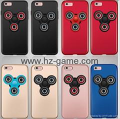 蘋果7plus指尖陀螺手機殼全包防摔iPhone7新款磨砂硬殼