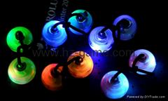 指尖減壓溜溜球新款創意玩具炫酷LED燈光解壓神器手指悠悠球
