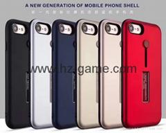 新款手機殼蘋果7手機殼iphone7plus保護套 蘋果6/6s全包防摔磨砂亮線TPU軟殼