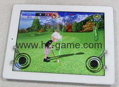 Mobile game joystick for